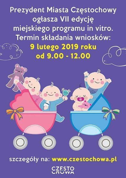 In Vitro w Częstochowie kontynuacja programu na lata 2018-2020